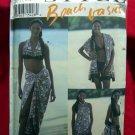 Style Pattern # 2474 UNCUT Misses Beach Wear Bikini Wrap Tote Size 6 8 10 12 14 16