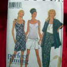 Style Pattern # 2632 UNCUT Misses Dress Top Jacket Wrap Skirt Size 6 8 10 12 14 16