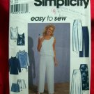 Simplicity Pattern # 8763 UNCUT Misses Tunic, Top, Pants Shorts, Skirt Size 12 14 16