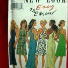 Simplicity NEW LOOK Pattern #6754 UNCUT Misses Summer Dress Cross Back Size 8 10 12 14 16 18