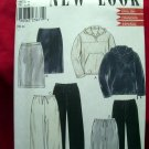 Simplicity NEW LOOK Pattern #6951  UNCUT Misses Casual Top Skirt Pants Hoodie Size 8 10 12 14 16 18