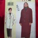 Vogue Today's FIT Pattern #7143 UNCUT Misses COAT Long Short Size SX S M