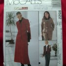 McCalls Pattern # 9522 UNCUT Misses Suit Jacket ~ Skirt ~ Pants Size 12 14 16