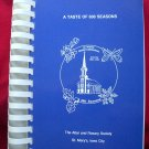 St Mary's Church Cookbook Iowa City, Iowa 1991 IA Sesqui-Centennial