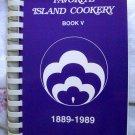 Favorite Island Cookery Hawaiian Cookbook 1989 from Hawaii