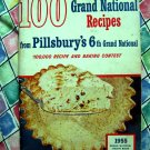 Pillsbury Bake Off 6th Grand National Recipes ~ Vintage 1955 Cookbook ~ 100 Recipes