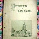 Rare Antique 1909 ~Caro Michigan Cookbook ~ Confessions of Caro Cooks