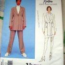 Vogue Pattern # 1482 UNCUT Misses Jacket Skirt Pants Size 8 10 12