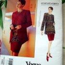 Vogue Pattern # 1567 UNCUT Misses Jacket Skirt & Top Size 12 14 16