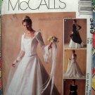 McCalls Pattern #3449 UNCUT Misses Renaissance  Bridal Gown Bridesmaid Dress Size 14 16 18
