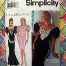 Simplicity Pattern # 8823 UNCUT Jessica McClintock Gown Evening Dress Size 18 20 22