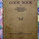 Rare 1924 Norwegian Cookbook Vintage ~ Decorah Lutheran Church