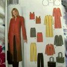 Simplicity Pattern # 5311 UNCUT Misses Top Skirt Pants Coat Jacket Tote Bag Sizes 10 12 14 16 18