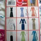Butterick Pattern # 3037 UNCUT Misses Miss Petite Top Skirt Scarf Sizes 8 10 12