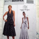 Butterick Pattern # 5175 UNCUT Misses Dress Long Short  Mock Halter  Size 16 18 20 22 24
