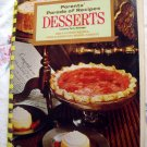 Vintage 1969 DESSERT RECIPECookbook Parents 2,000 Recipes Cakes Pies Beverages MORE!