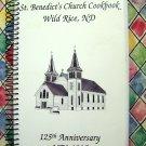 1995 Wild Rice North Dakota Church Cookbook ND