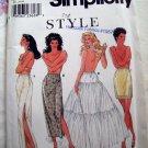 Simplicity Style Pattern # 9027 UNCUT Petticoat & Slip Size XS S M L XL