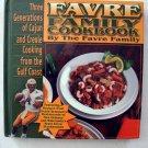 Rare Farve Family Cookbook by Brett Farve QB Minnesota Vikings