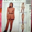 McCalls Pattern # 8013 UNCUT Jones New York  Misses Dress Jacket Skirt Pants Size 16 18 20