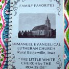 Vintage 1982 Rural Estherville Iowa Lutheran Church Cookbook