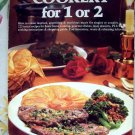 Cookery for One or Two Cookbook ~ 225 Recipes