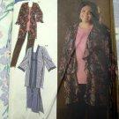 Simplicity Pattern # 4892 KHALIAH ALI Misses Dress Tunic Pants Kimono PLUS Size 18  20 22 24