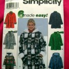 Simplicity Pattern # 7803 UNCUT Misses Jacket / A-Line Car Coat Size Large / XL