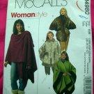 McCall's Pattern # 4980 UNCUT Woman's Cape /Wrap Plus Size 18 20 22 24