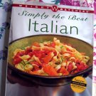 Weight Watchers Cookbook ~ Simply the Best Italian ~ 250 Recipes