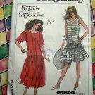 Simplicity Pattern # 8571 UNCUT Misses Loose Fitting Dress Size Sm Med Large XL