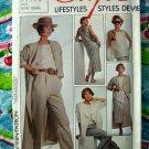 Style Pattern # 4600 UNCUT Misses Jacket Dress Pants Sizes 10 12 14