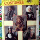 McCall's Pattern # 8938 UNCUT Baby/Toddler Costume Size 1/2 Panda Skunk Lion MORE!