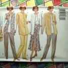 Butterick Pattern # 3322 UNCUT Misses/ Petite Jacket Vest Top Skirt Pants Size 6 8 10 12