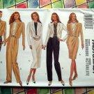Butterick Pattern # 3158 UNCUT Misses Jacket Top Skirt Pants Size 6 8 10