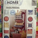 McCalls Pattern # 9260 UNCUT Home Decor PILLOW ESSENTIALS Pillow Patterns in ALL Shapes