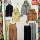 Simplicity New Look # 6947 UNCUT Misses Vest Hoodie Pants Skirt Size 8 10 12 14 16 18