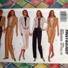 Butterick Pattern # 3158 UNCUT Misses Jacket Top Skirt Pants Size 12 14 16