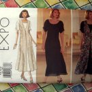 Butterick Pattern # 3301 UNCUT Misses Dress & Long Vest Overlay Size 6 8 10 12