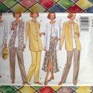 Butterick Pattern # 3322 UNCUT Misses/ Petite Jacket Vest Top Skirt Pants Size 14 16 18
