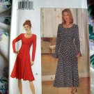 Butterick Pattern # 3223 UNCUT Misses Dress ~ Fitted Flared Sizes 12 14 16