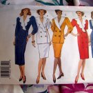 Butterick Pattern # 3309 UNCUT Misses Dress Top Skirt Size 8 10 12
