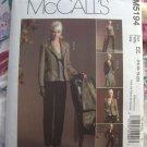 McCalls Pattern # 5194  UNCUT Misses Woman's Lined Jacket Top Skirt Pants Size 14 16 18 20