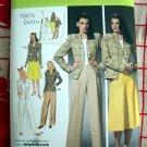 Simplicity Pattern # 4044 UNCUT Misses Skirt Pants Lined Jacket Retro 1940's Size 10 12 14 16 18