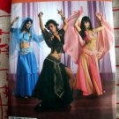 Simplicity Pattern # 2941 UNCUT Misses Belly Dancing /Dancer Costume Size 14 16 18 20