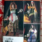 Simplicity Pattern # 2331 UNCUT Misses Gypsy Fortune Teller Costume Sizes 14 16 18 20 22