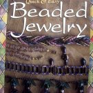Quick & Easy Beaded Jewelry Instruction / Project Book Elizabeth Gourley