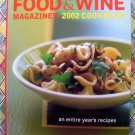 Food & Wine Annual Cookbook 2002: An Entire Year of Recipes (700) HCDJ