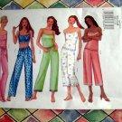 Butterick Pattern # 6883 UNCUT Misses/Petite Camisole Pants (PJs) Size XS Small Medium