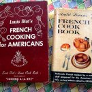 Lot Vintage French Cookbooks  LOUIS DIAT'S FRENCH COOKING FOR AMERICANS